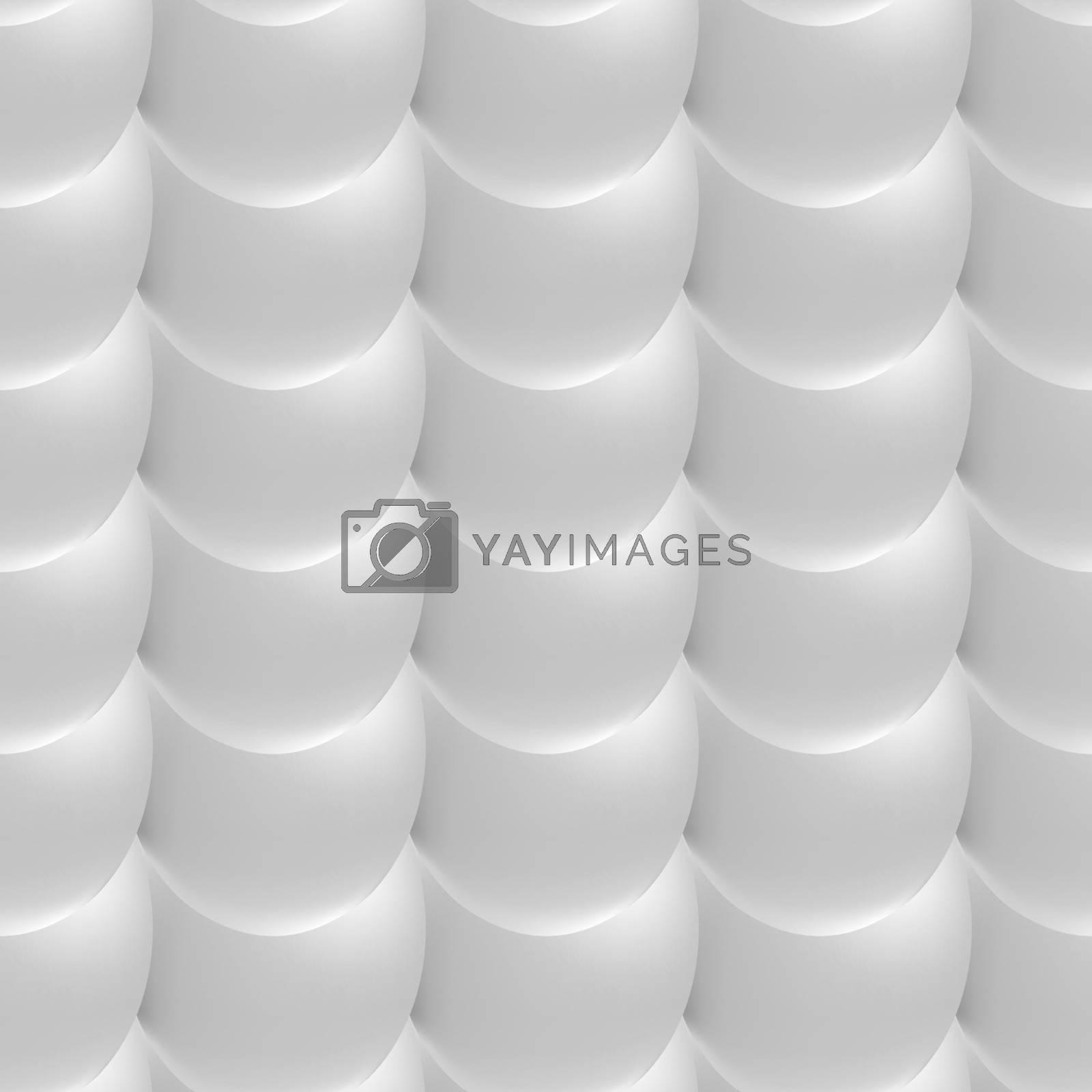 White texture. Seamless light 3d neutral background
