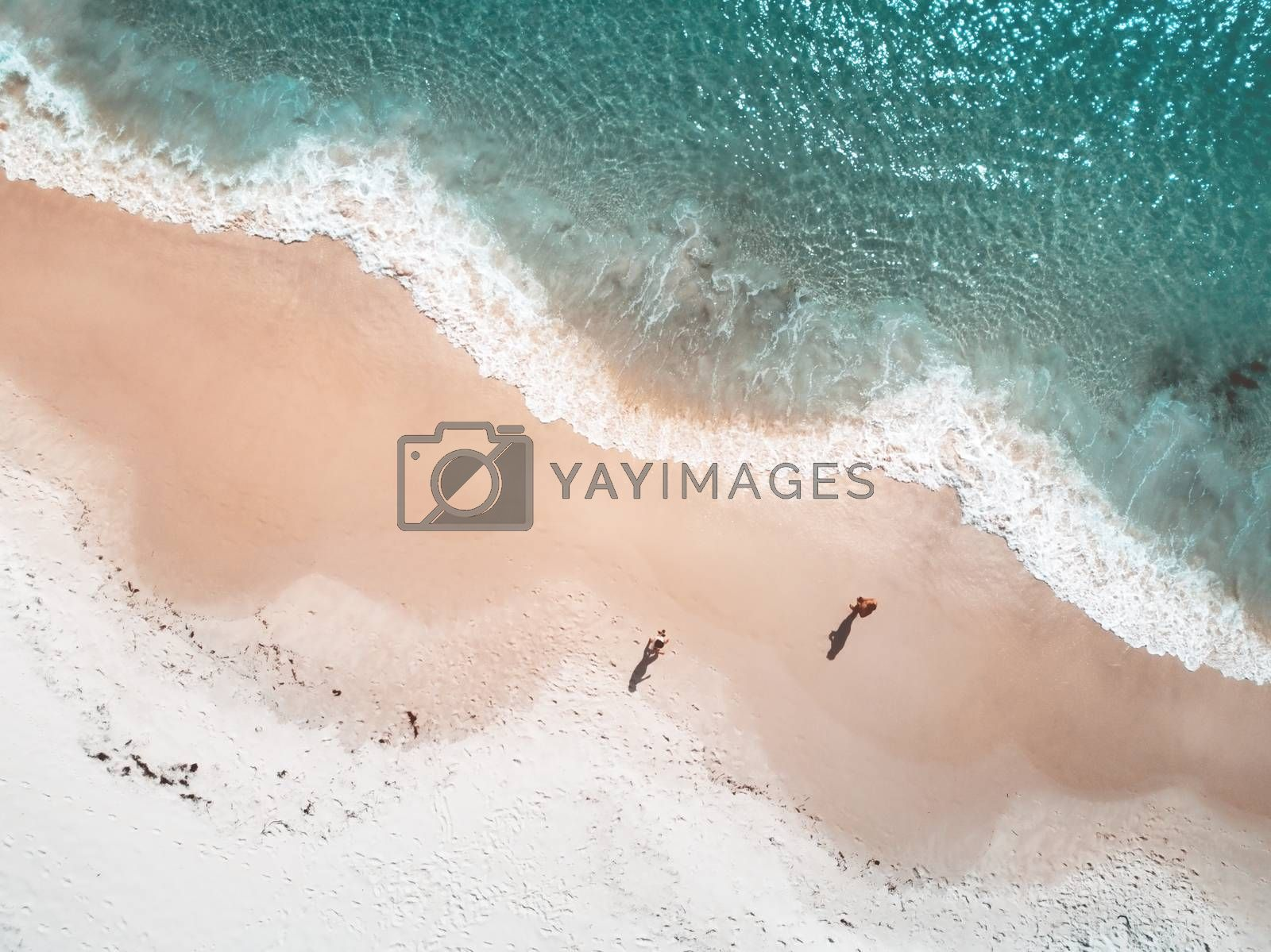 Beach shoreline curved patterns shapes and colours of the tide