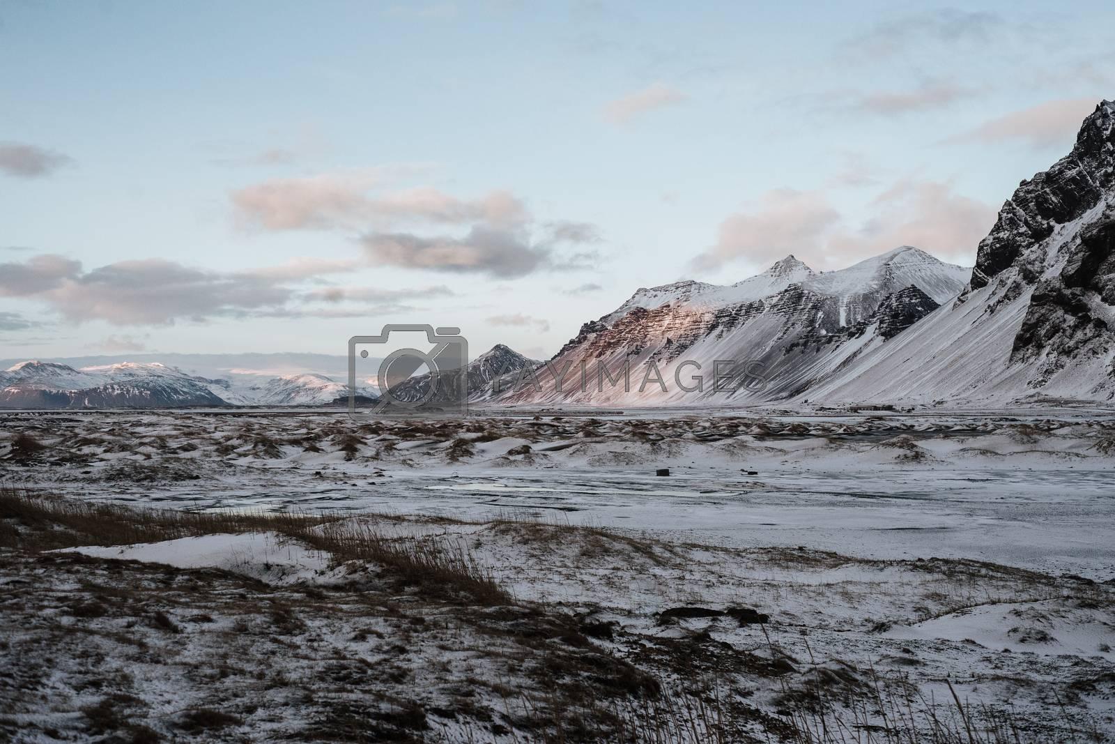 A landscape at Stokksnes, Iceland by ckreymborg