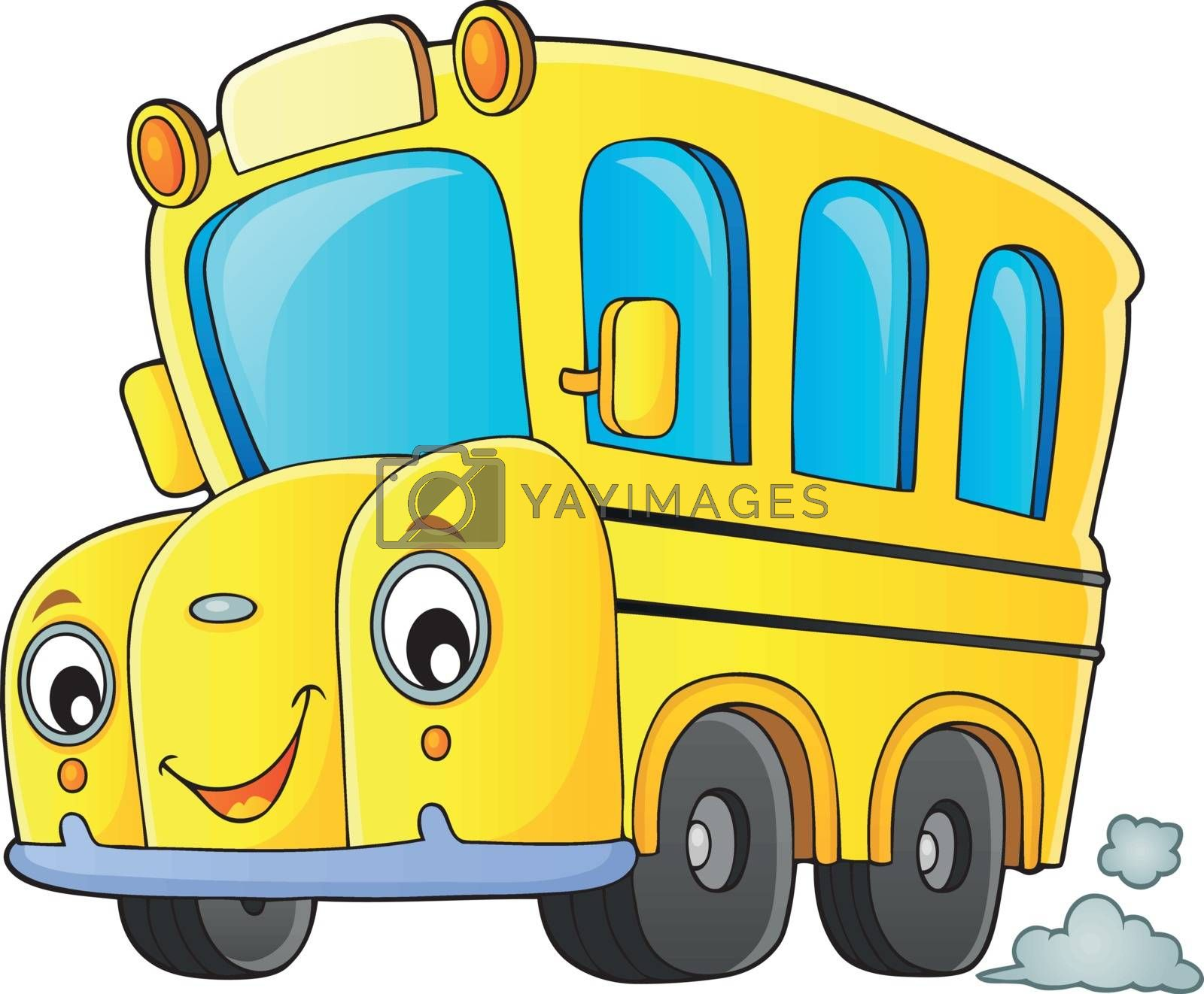 School bus thematics image 1 by clairev