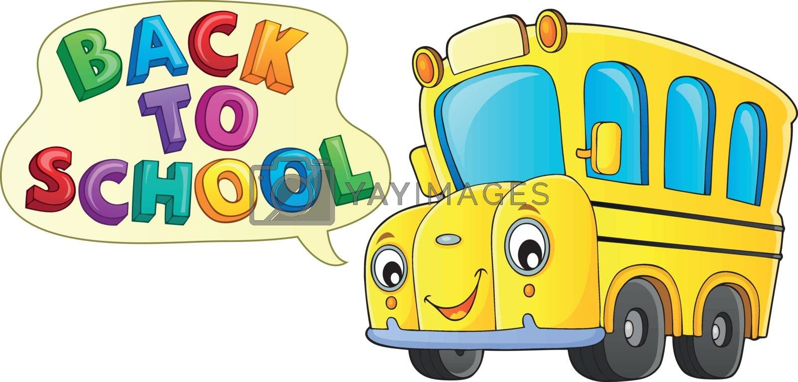 Back to school topic 9 - eps10 vector illustration.