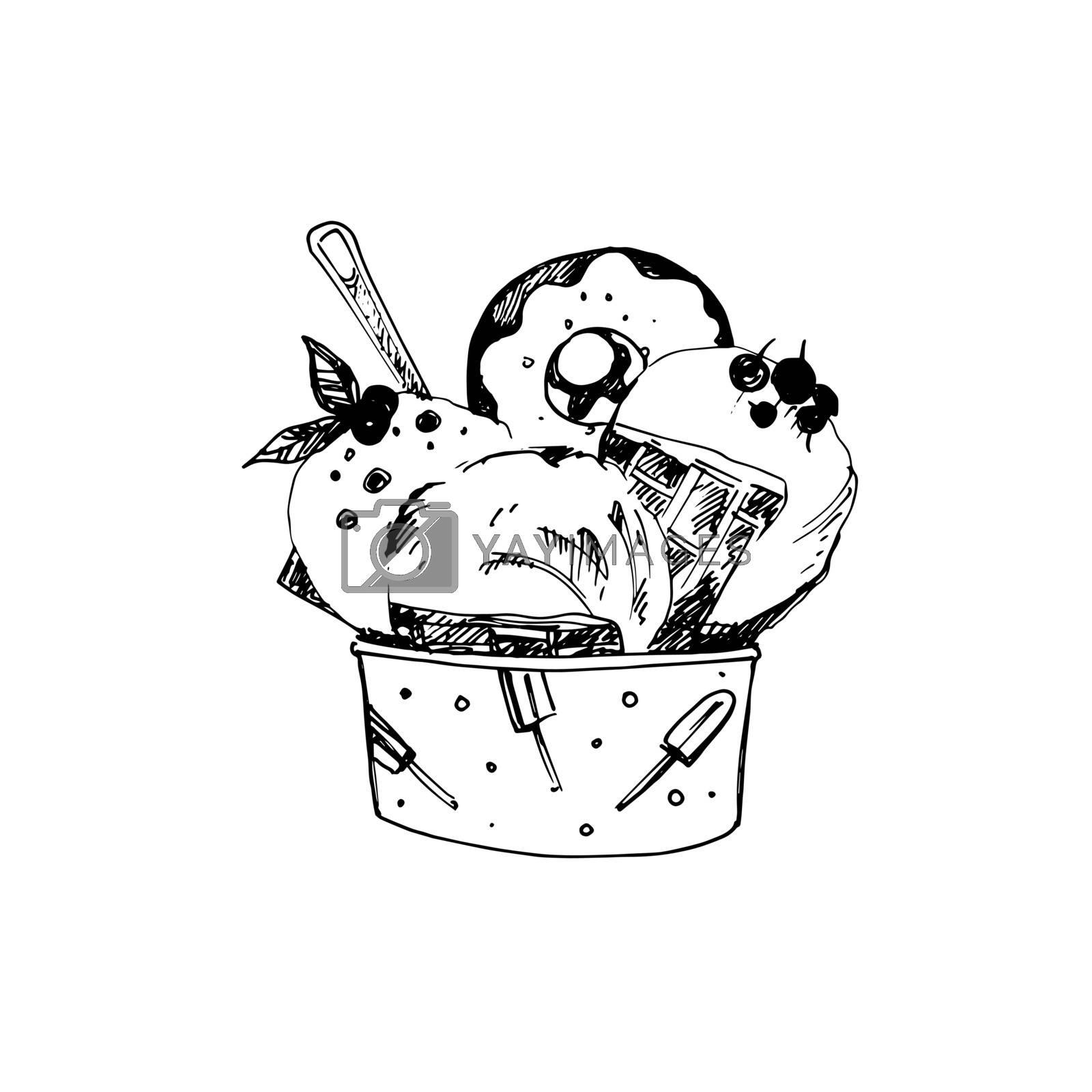 Sketch of Food by dvarg