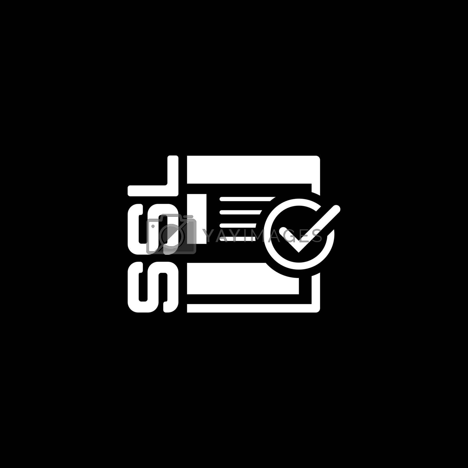 SSL Secured Icon. Flat Design Isolated Illustration.
