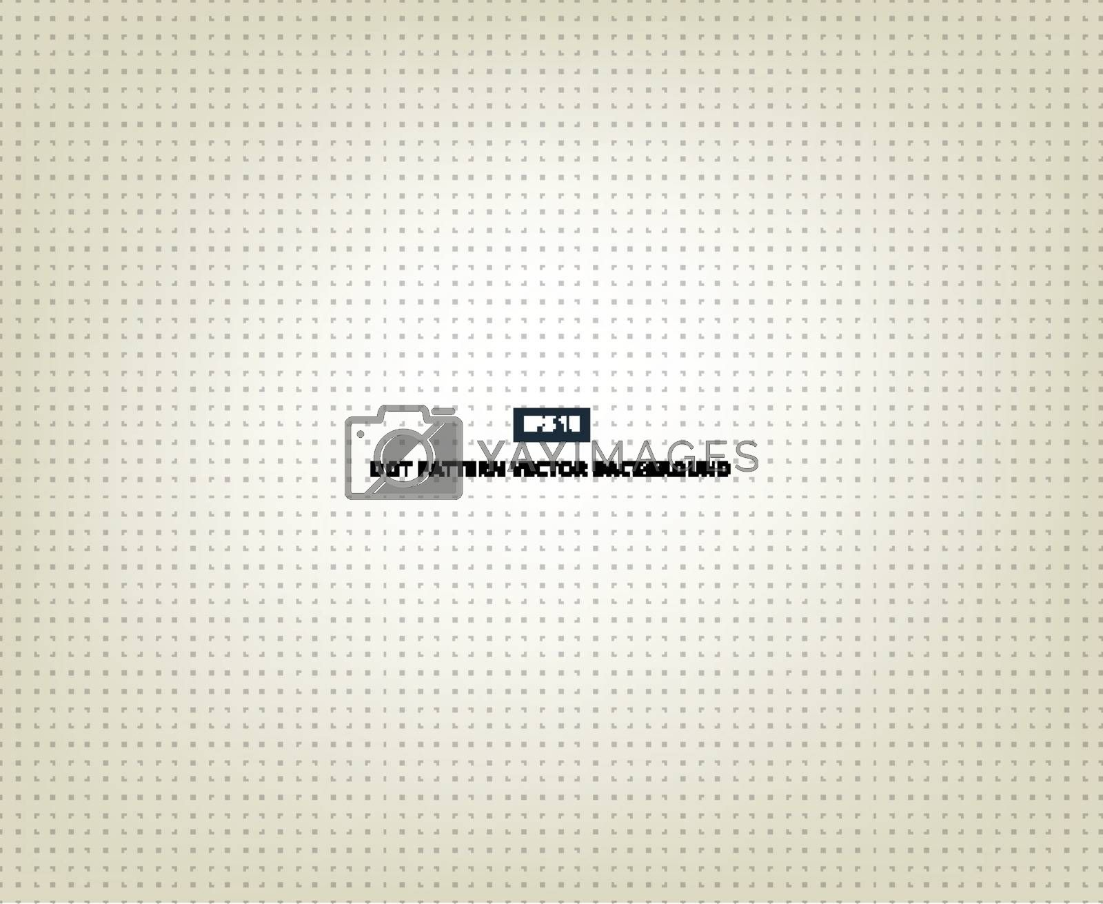Seamless Gray Polka Dot Background vector