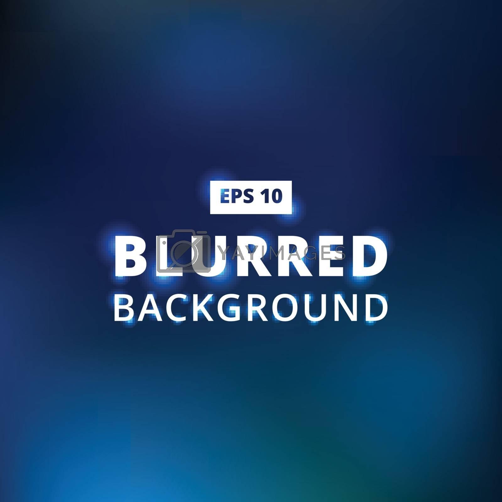 blue dark blue black abstract background blurred gradient vector