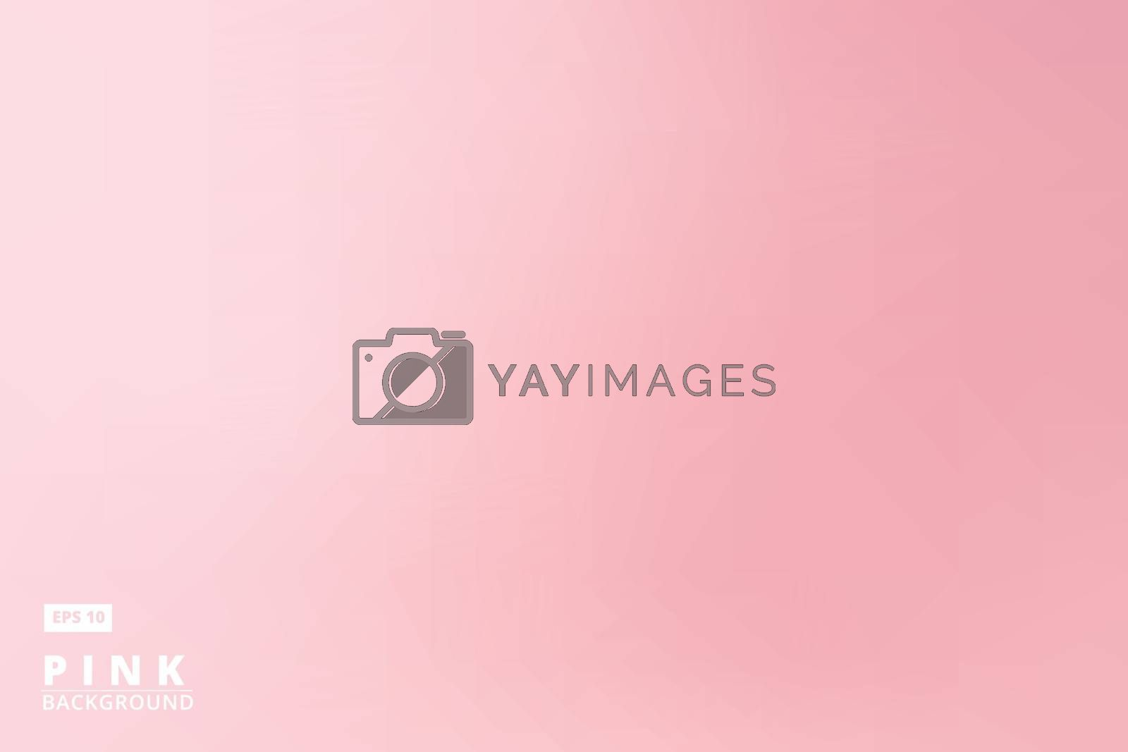 empty gradient pastel pink studio room background, template business backdrop, Vector Illustration, for print, ad, brochure, magazine, poster, leaflet