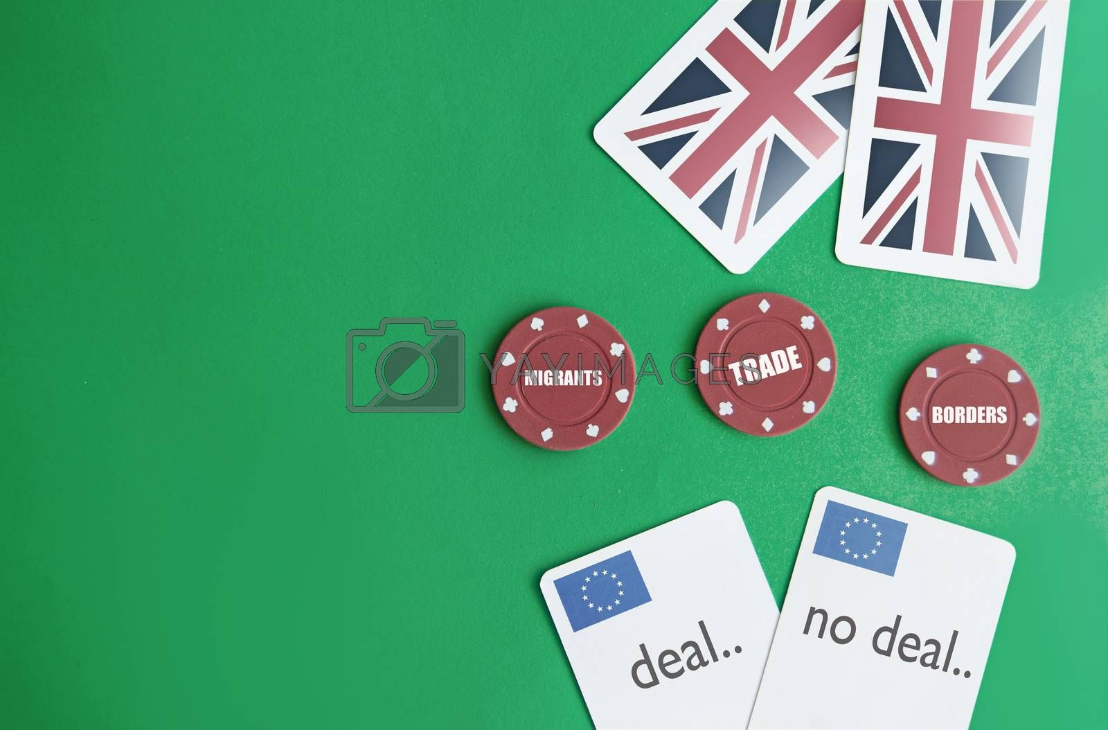 Royalty free image of Brexit poker concept by unikpix
