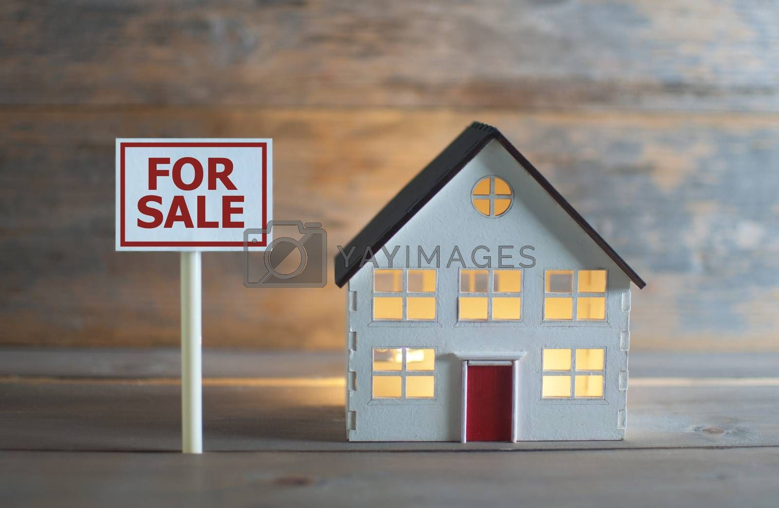 Royalty free image of Real estate for sale by unikpix