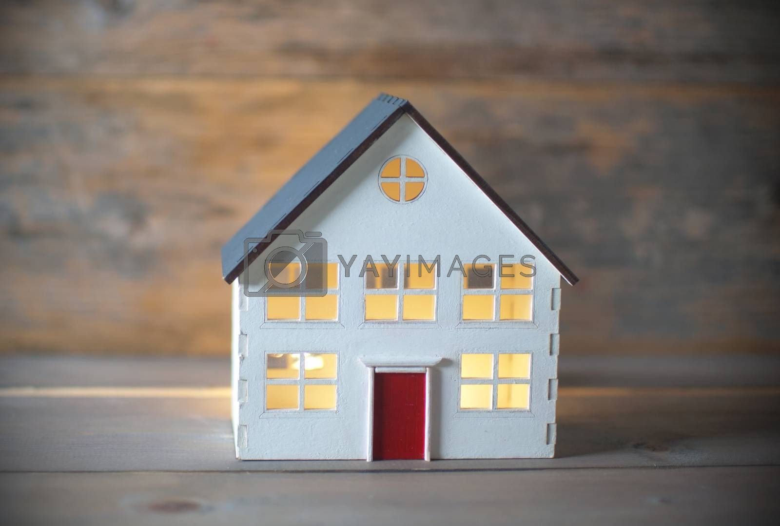 Royalty free image of Miniature house by unikpix