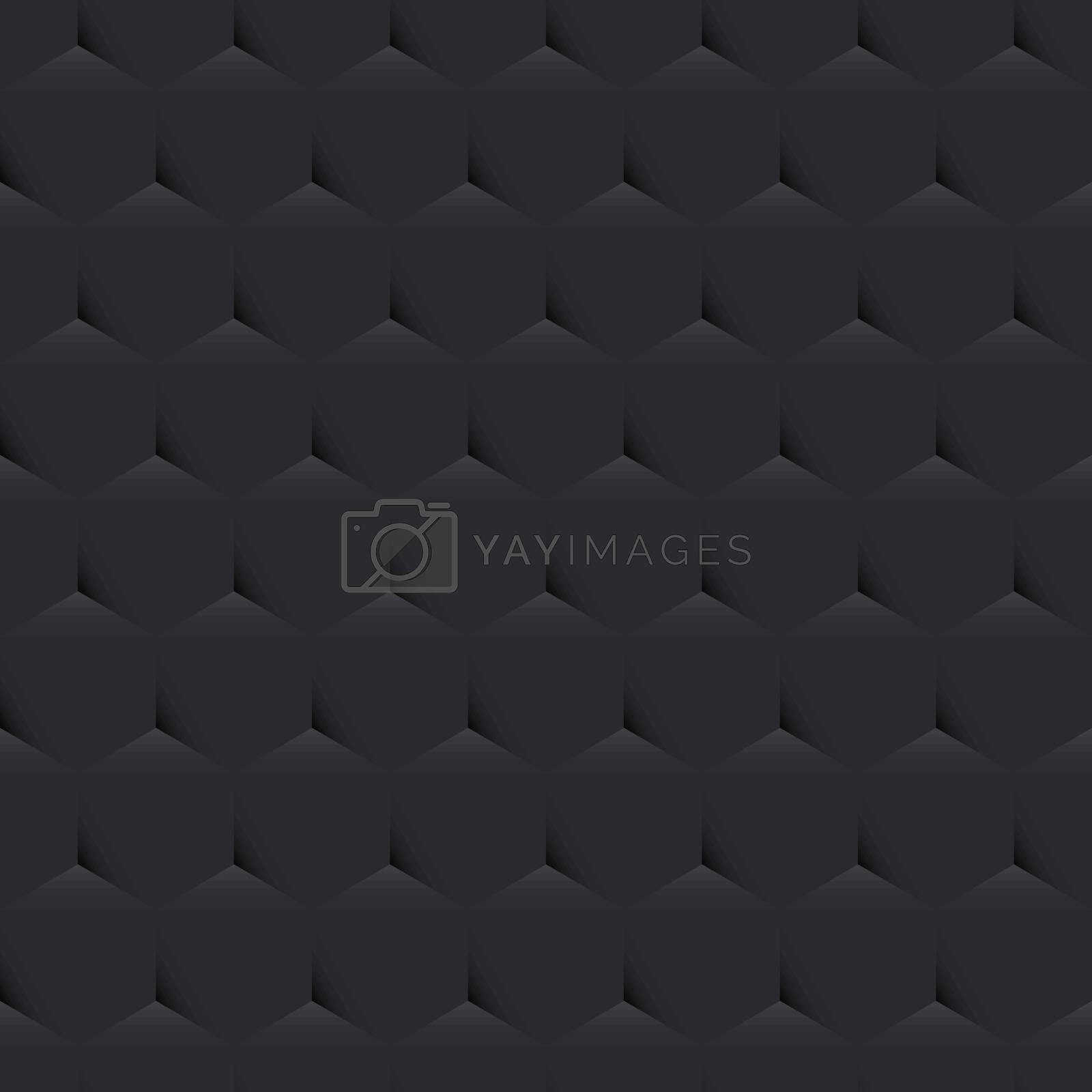 Dark Gray Mosaic Background, Creative Design Templates