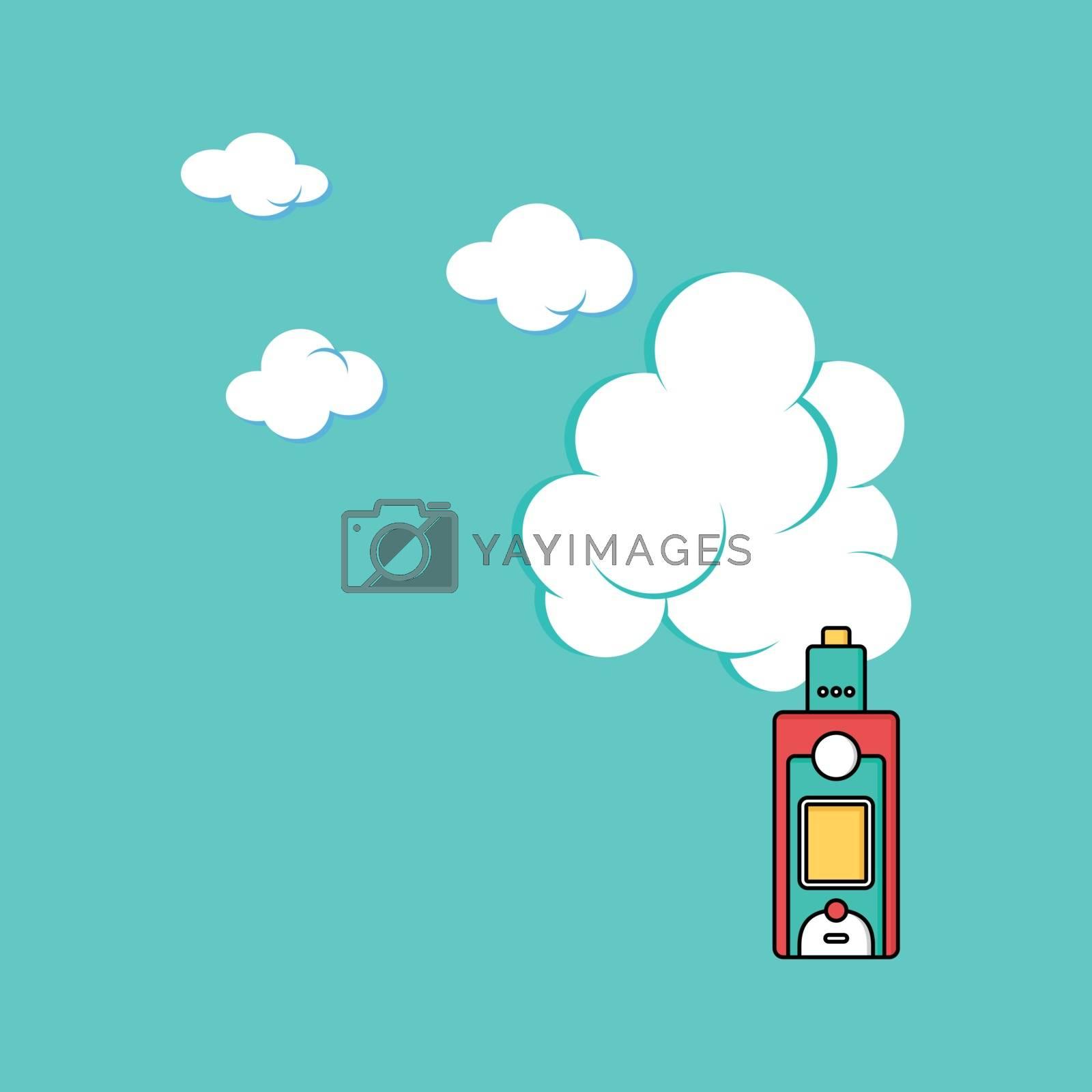 electric cigarette personal vaporizer cloud maker by vector1st