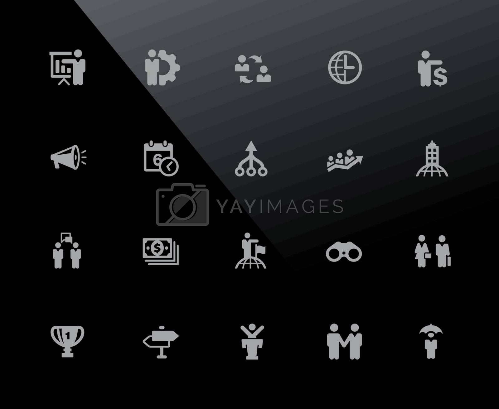 Vector icons adjusted to work in a 32 pixel grid.