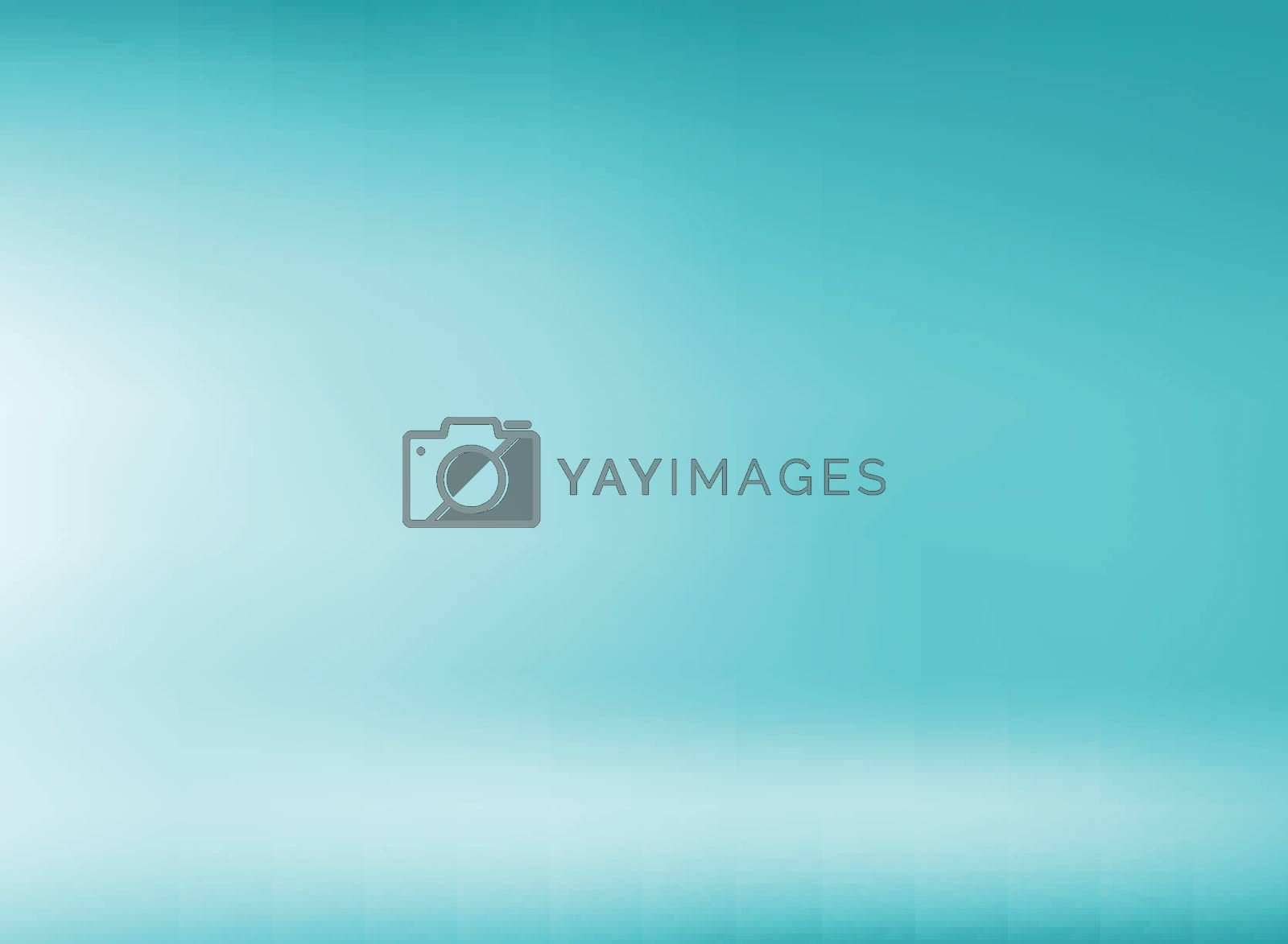 Studio room green mint color background with soft lighting. You can use for design print, brochure, poster, banner, website, Presentation. Vector illustration