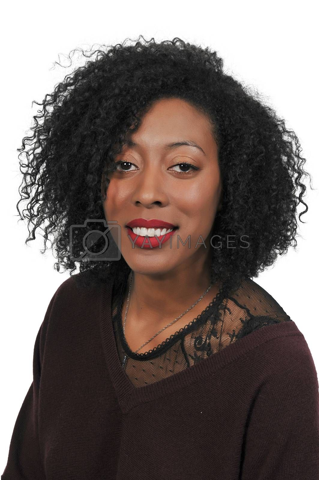 Beautiful African American Woman by robeo