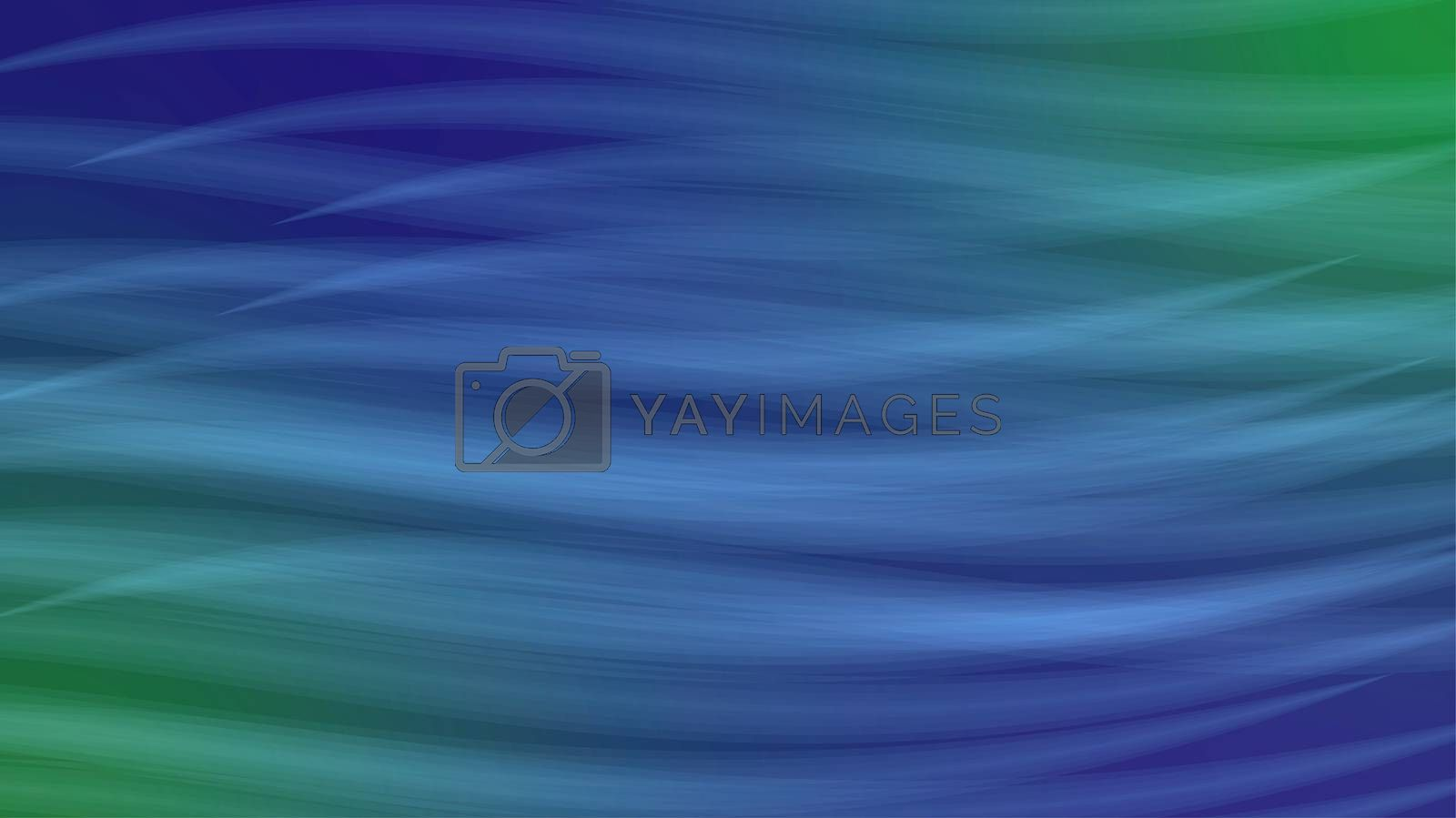 Abstract Background Wave effect soft interlocking colors