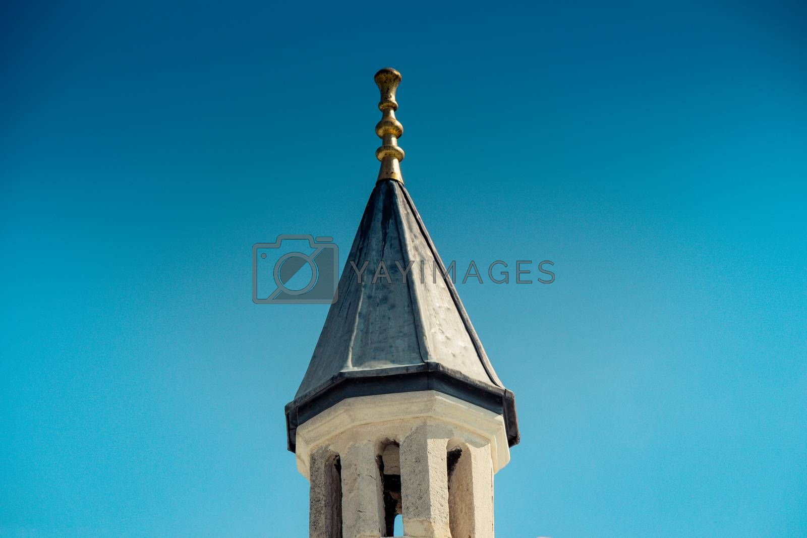 Fine example of ottoman Turkish tower architecture masterpieces