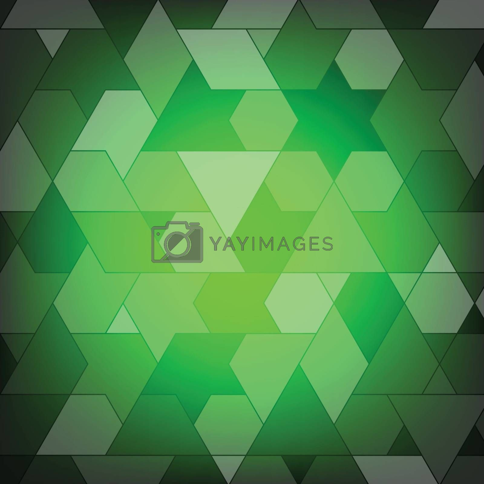 Polygon abstract and background