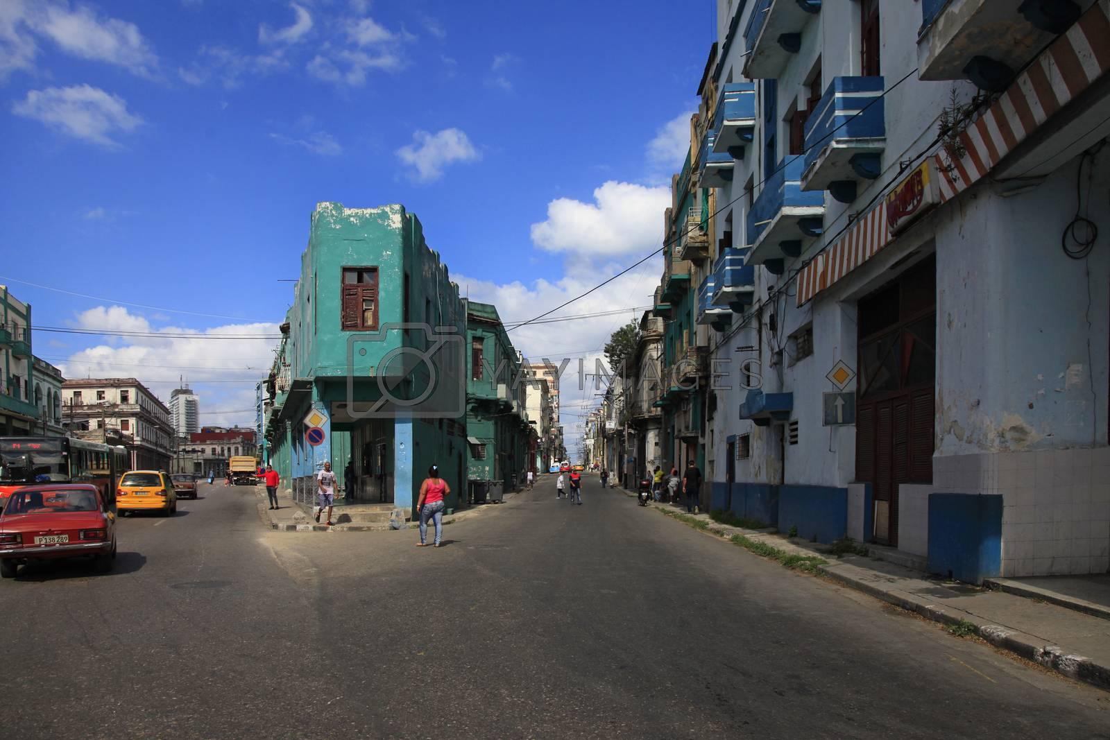 Royalty free image of Street in Havan by friday