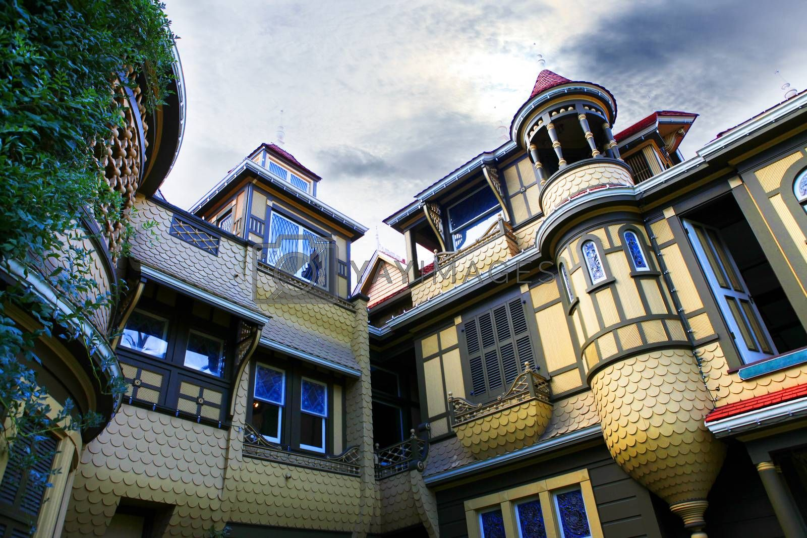 Royalty free image of Winchester Mystery House by friday