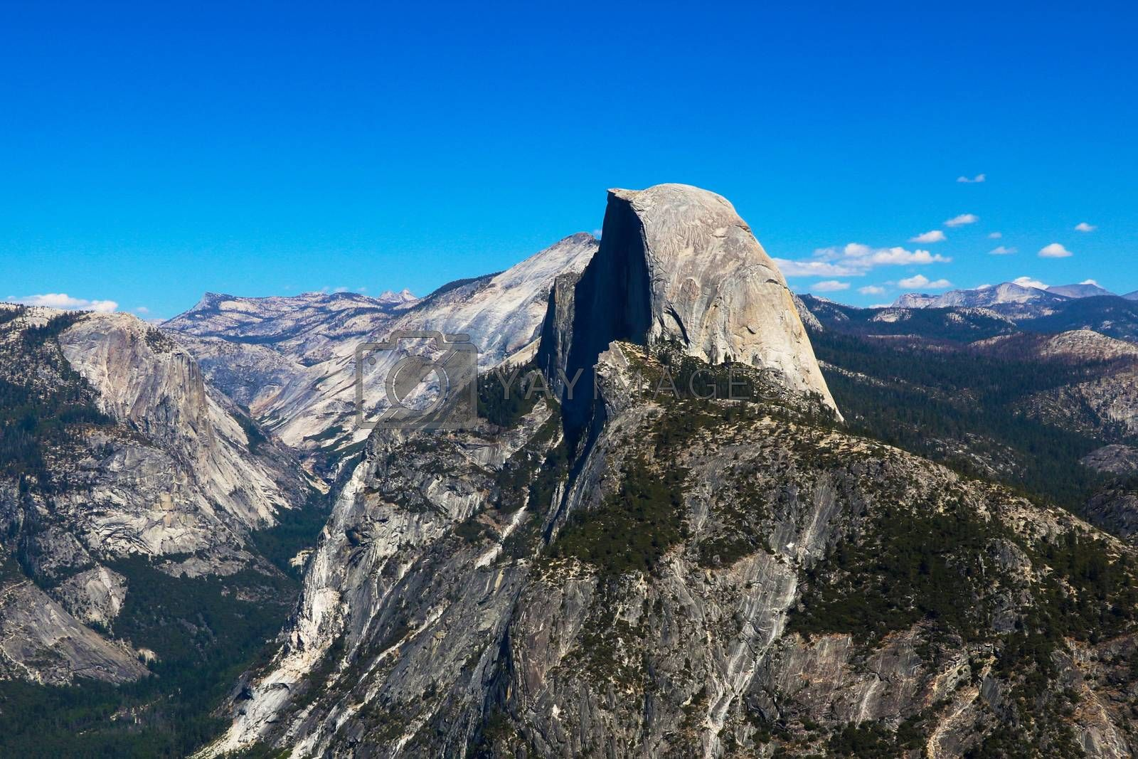 Half Dome Trail View, Yosemite National Park, California
