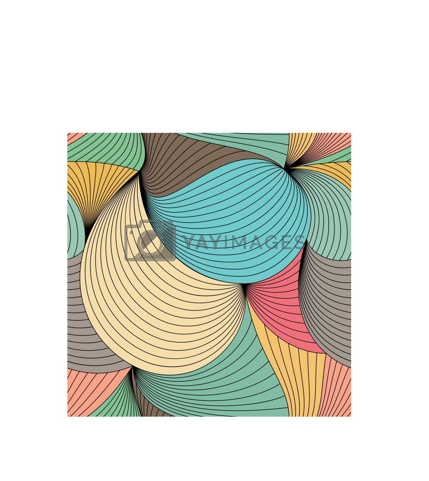 Colorful seamless pattern.