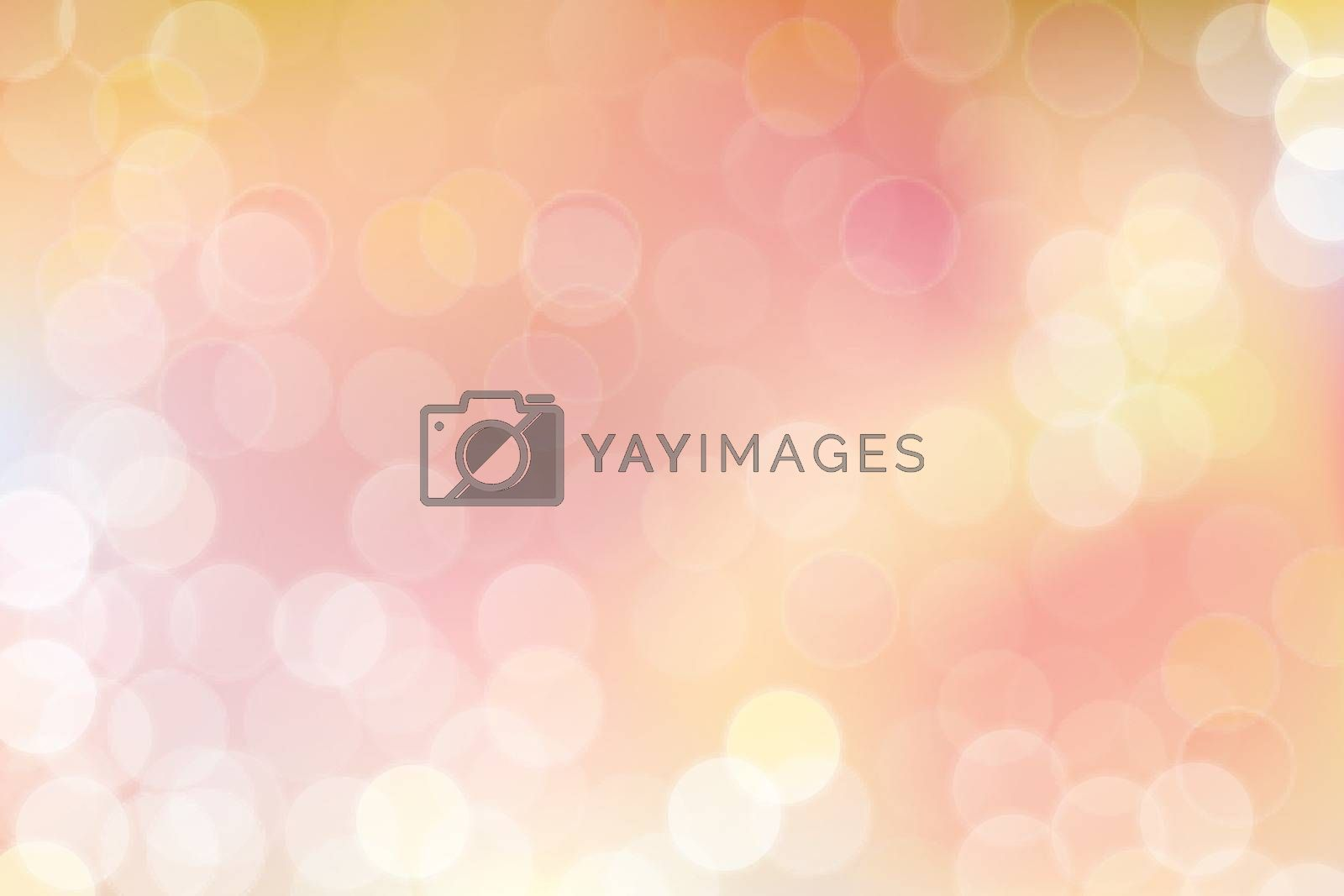 Vector bokeh abstract background with pink tone.