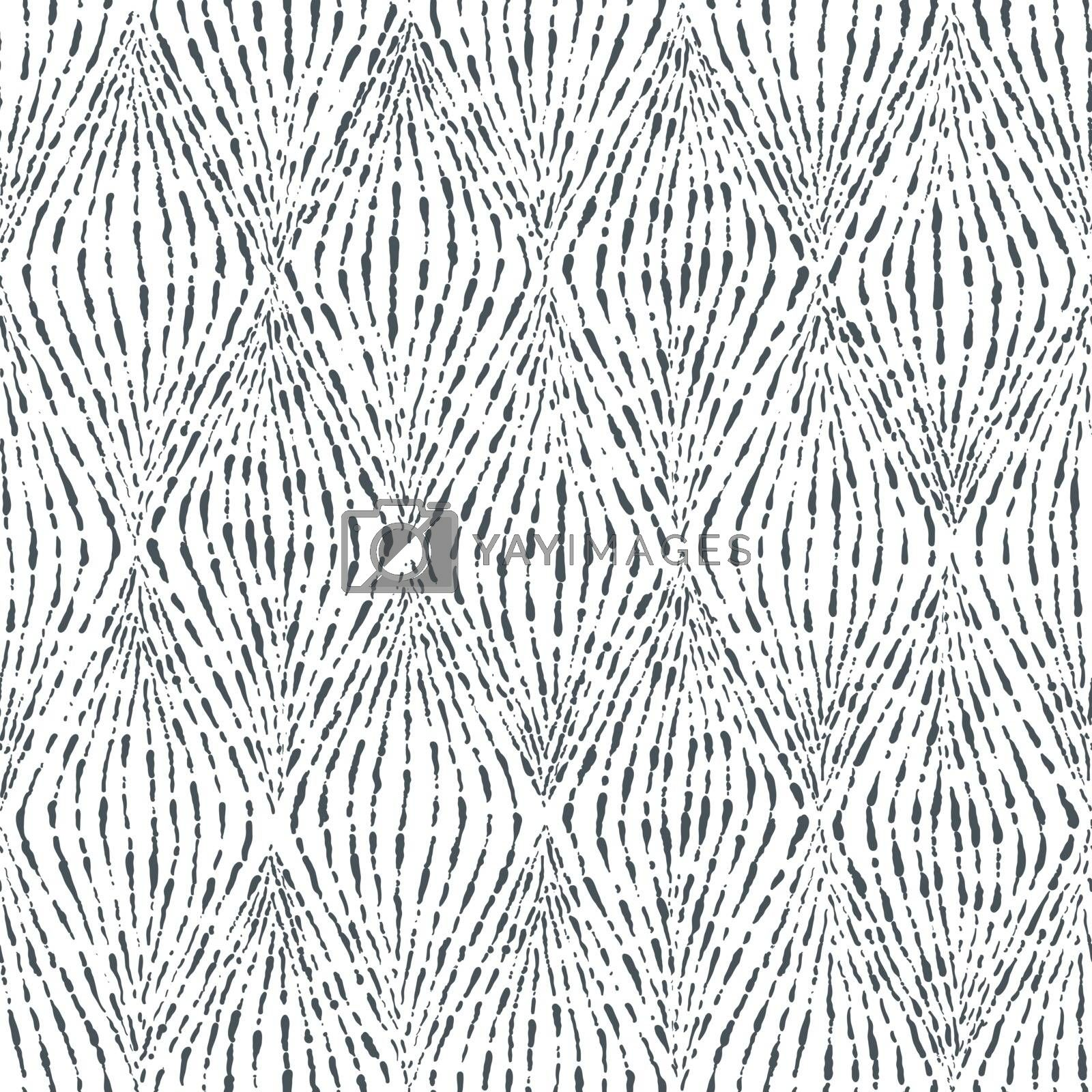 Fingerprint seamless background on square shape. by narinbg