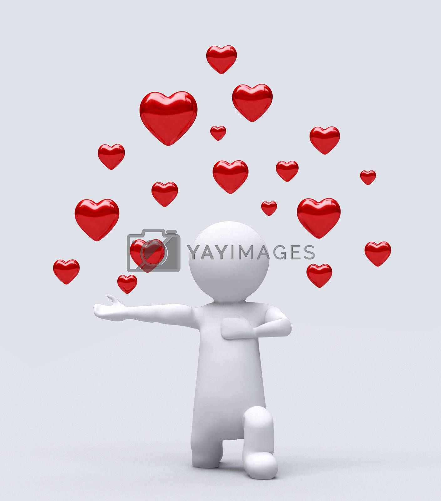 valentines day, I love you, romantic background. by hakan kacar