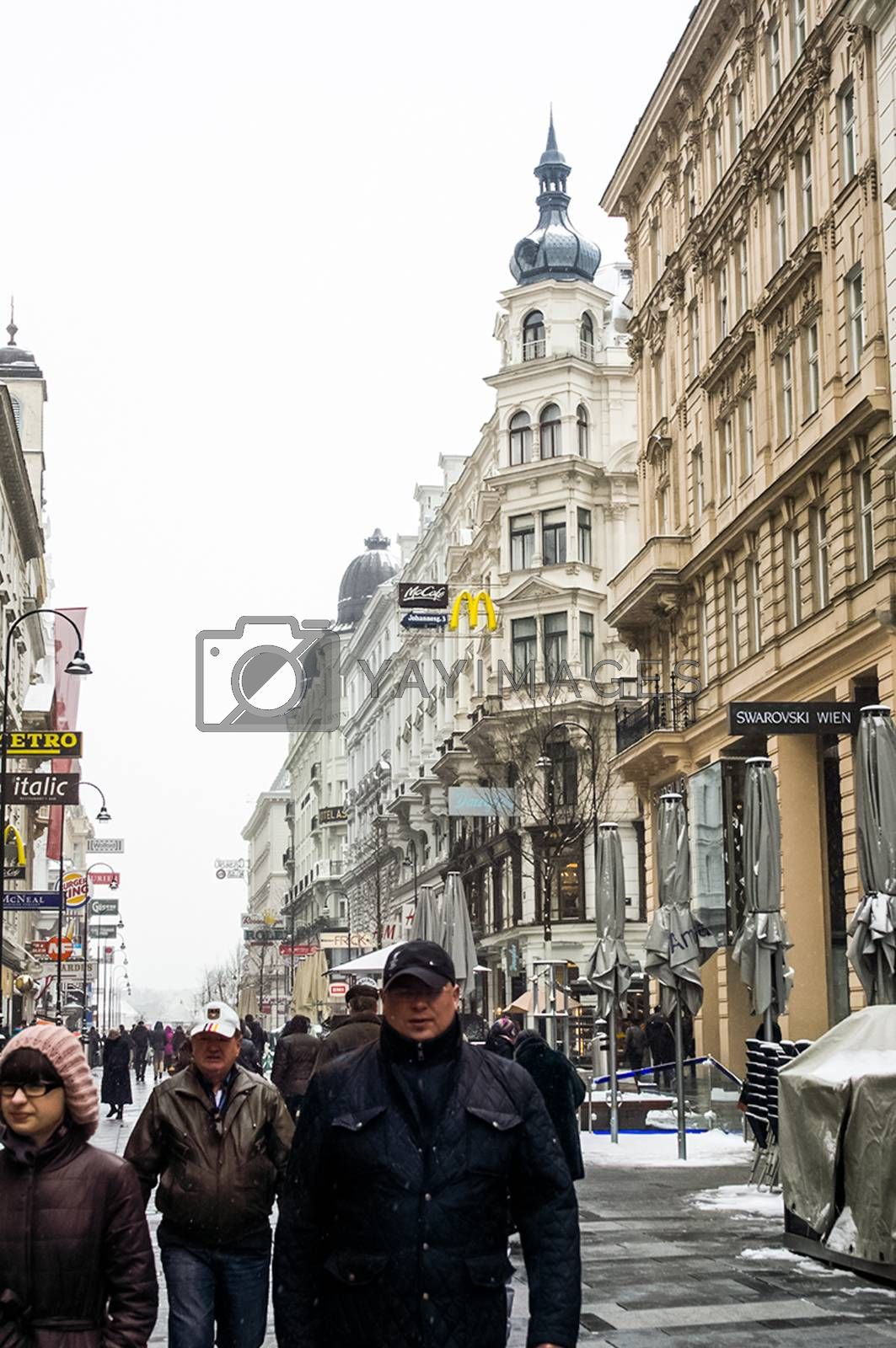 Sights of Vienna, buildings and streets of the city of Vienna by avstraliavasin