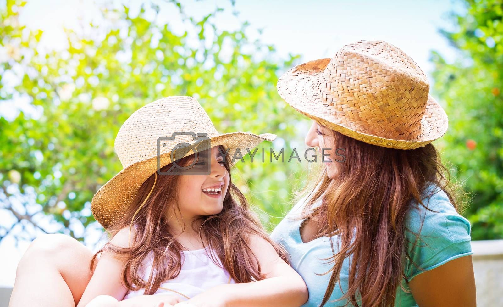 Happy mother with daughter by Anna_Omelchenko