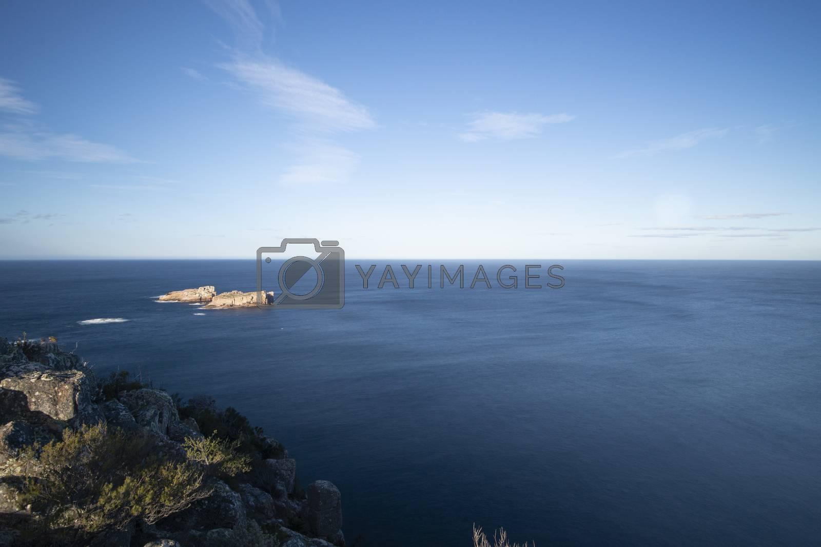 Royalty free image of Carp Bay in Freycinet National Park by artistrobd