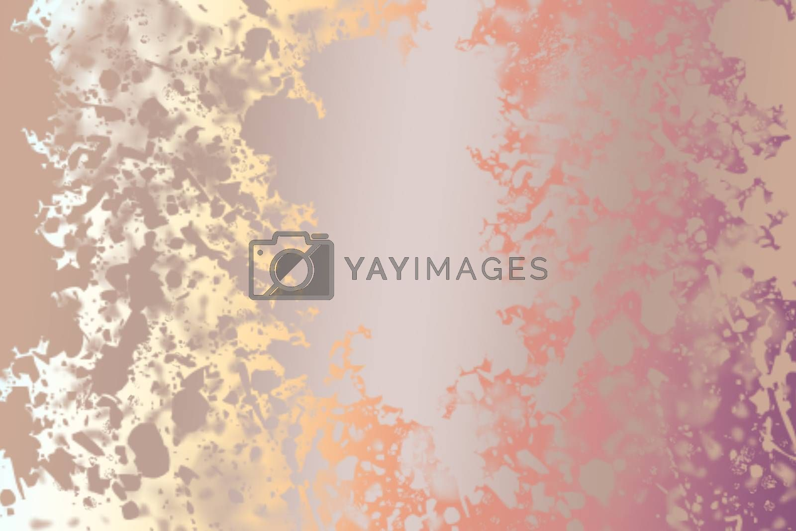 Colorful abstract grunge background with space for text by berkay