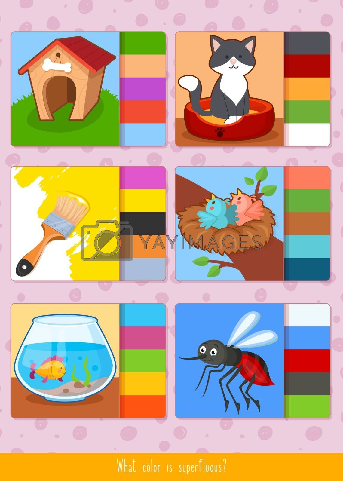 Educational children game. Toddlers activity. by SonneOn