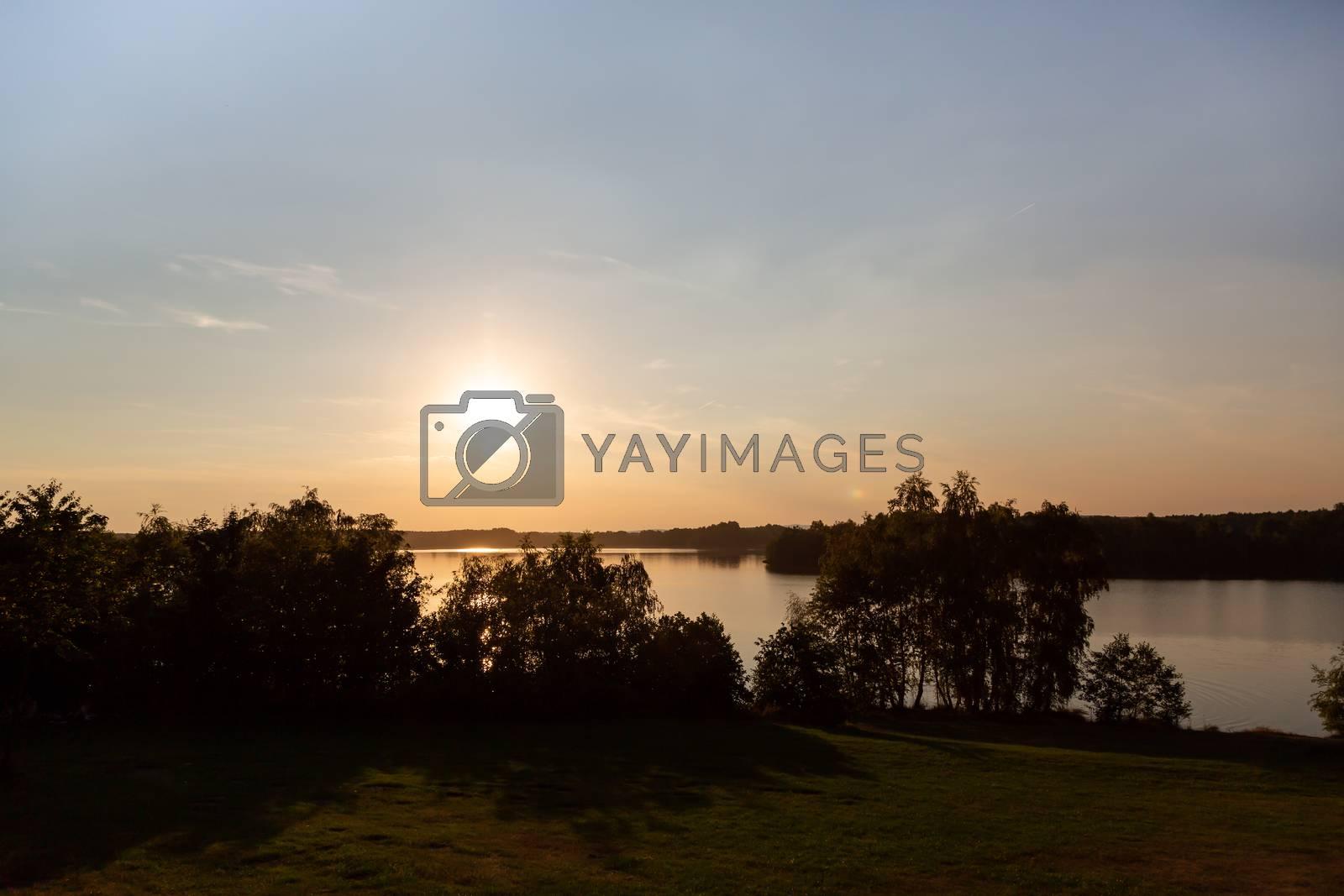 Landschaft am Murner See, Wackersdorf, Bayern by Sandra Fotodesign