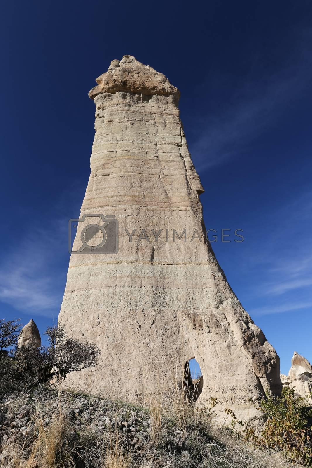 Rock Formations in Love Valley, Cappadocia, Nevsehir, Turkey by EvrenKalinbacak