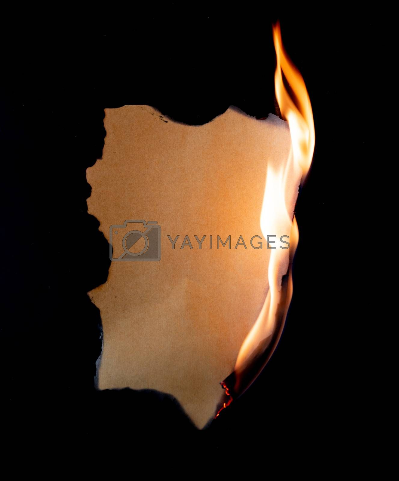 burning paper by anankkml