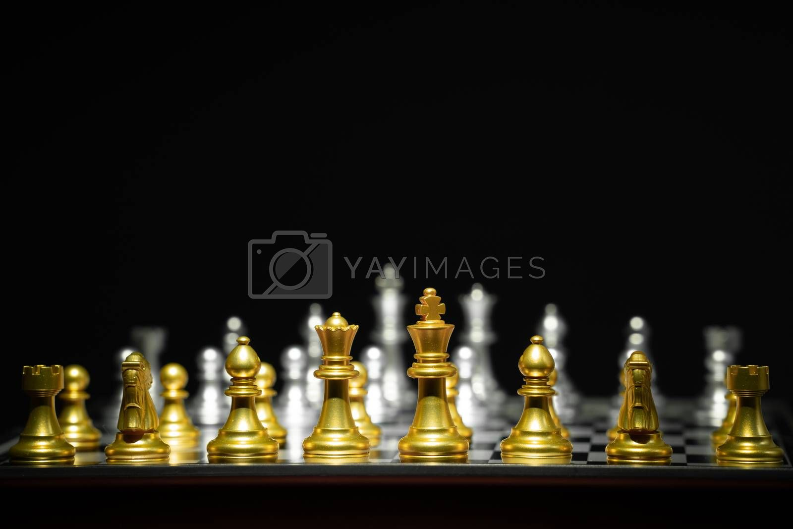 chess board game by anankkml