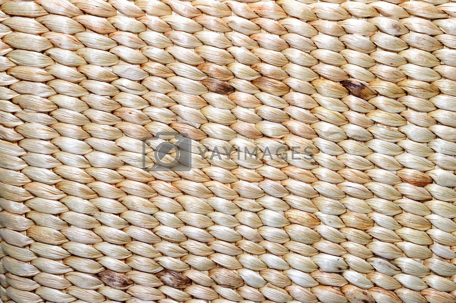 pattern abstract on the brown bamboo texture