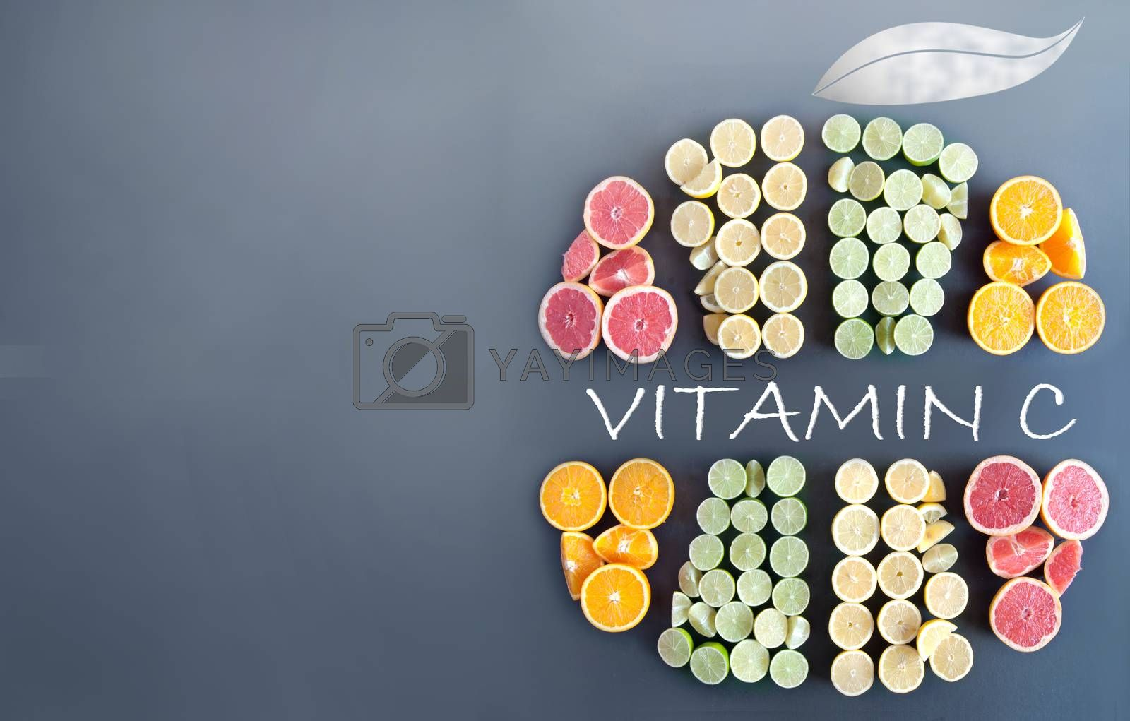 Royalty free image of Vitamin C by unikpix