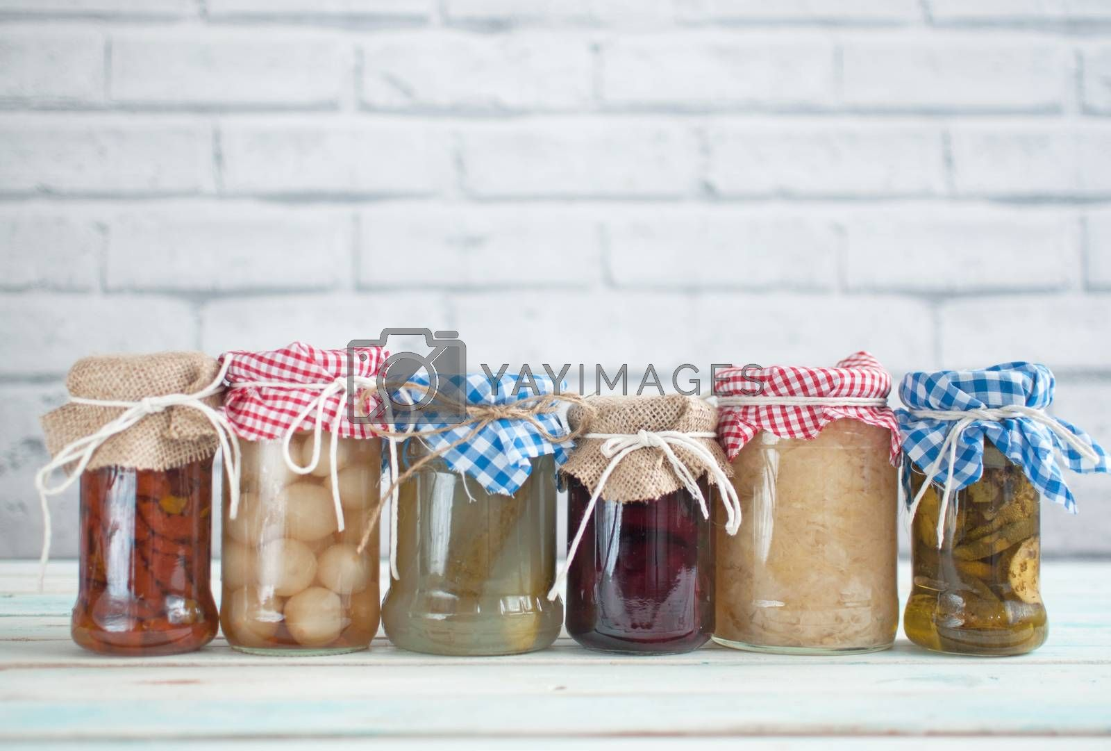 Royalty free image of Fermented food collection by unikpix