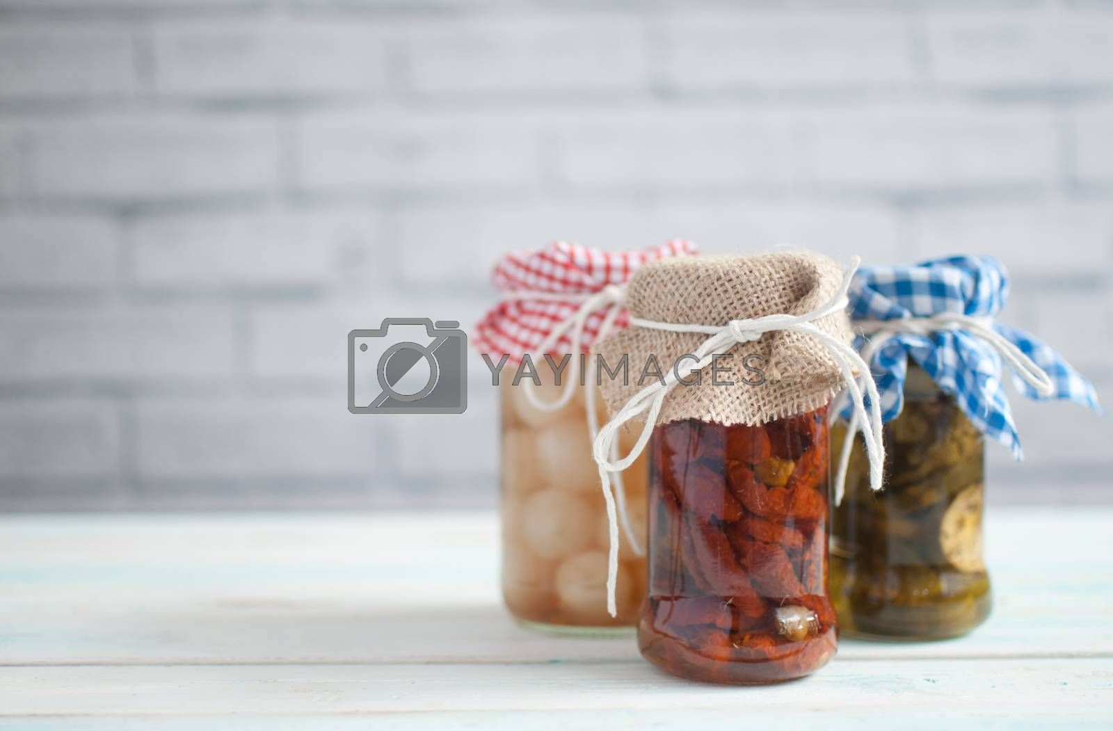 Royalty free image of Fermented foods by unikpix