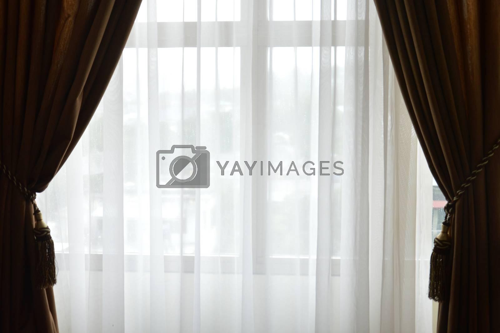 house window curtain by antonihalim