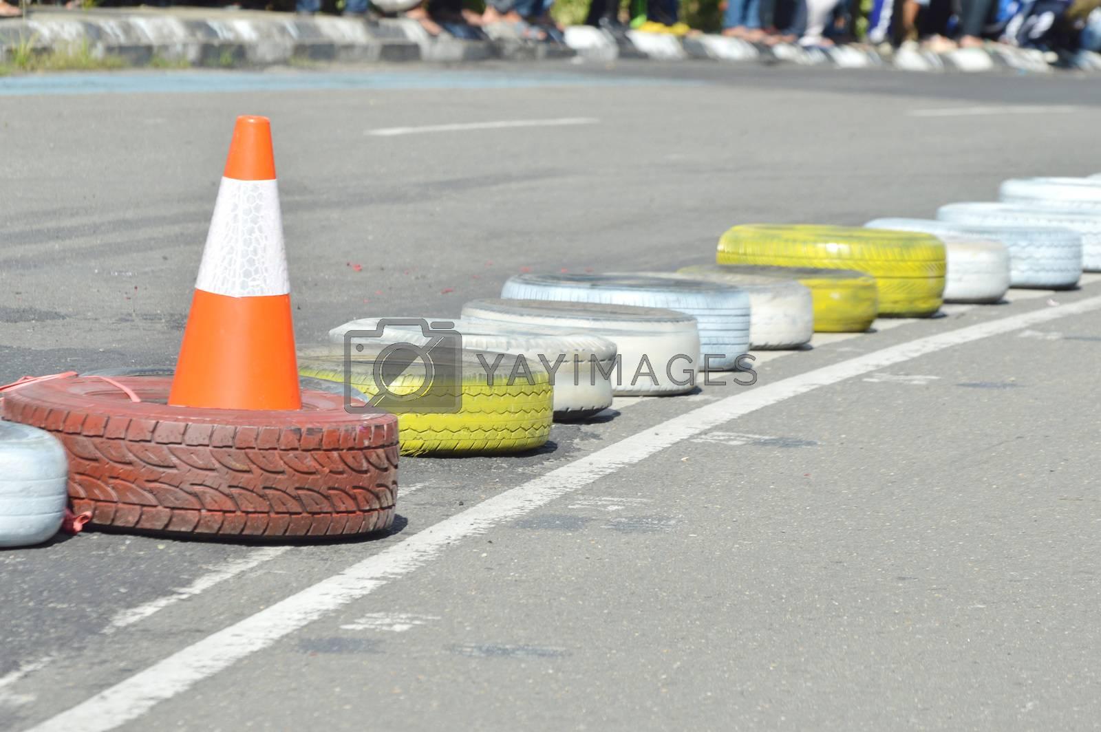 traffic cone by antonihalim