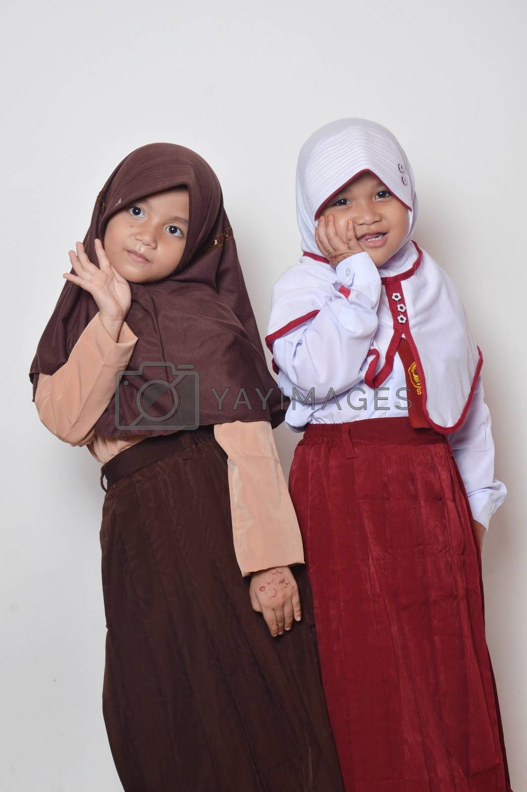 asian little girl by antonihalim