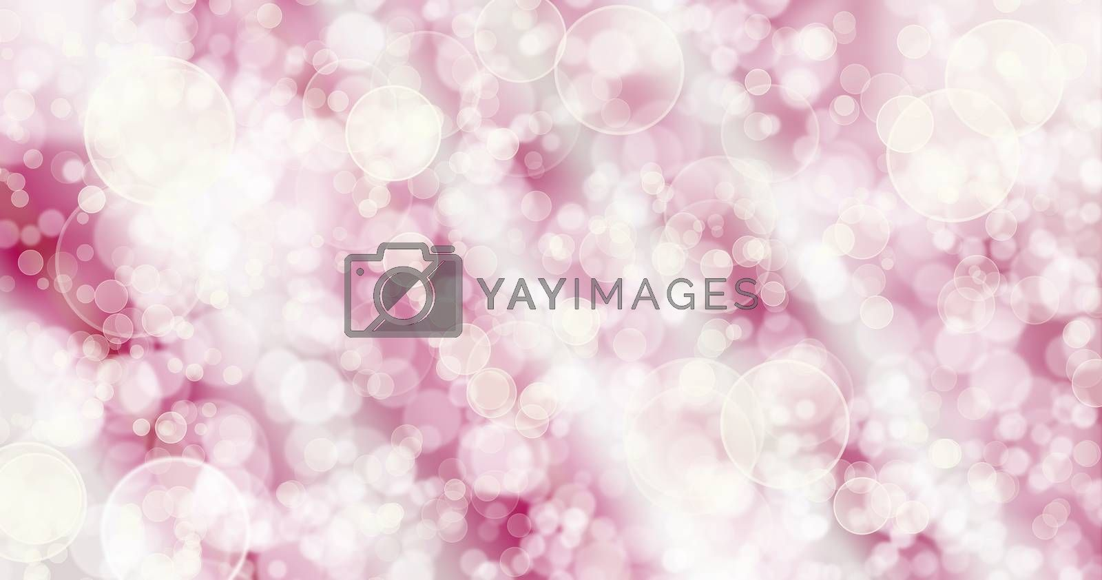 Bokeh Red Pink Background.