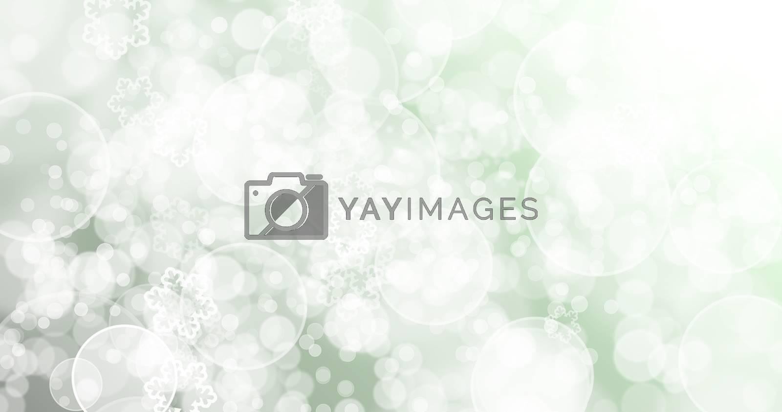 Green background.Bokeh Green background.