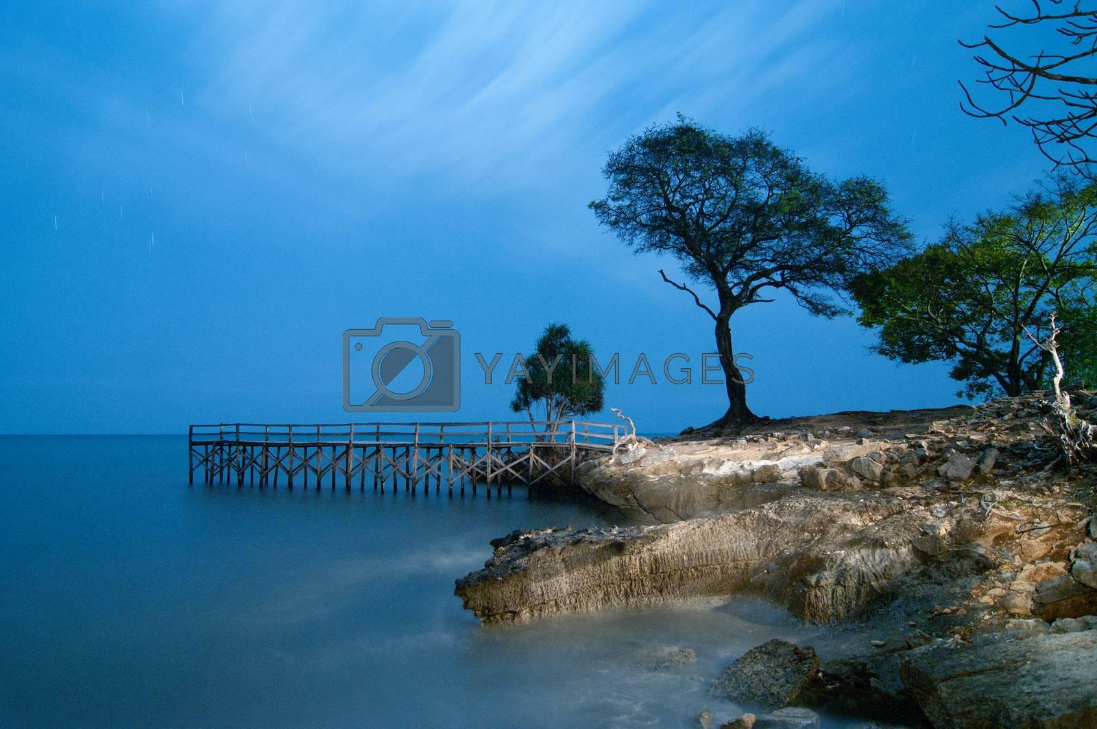 Topejawa beach at Takalar Indonesia by antonihalim