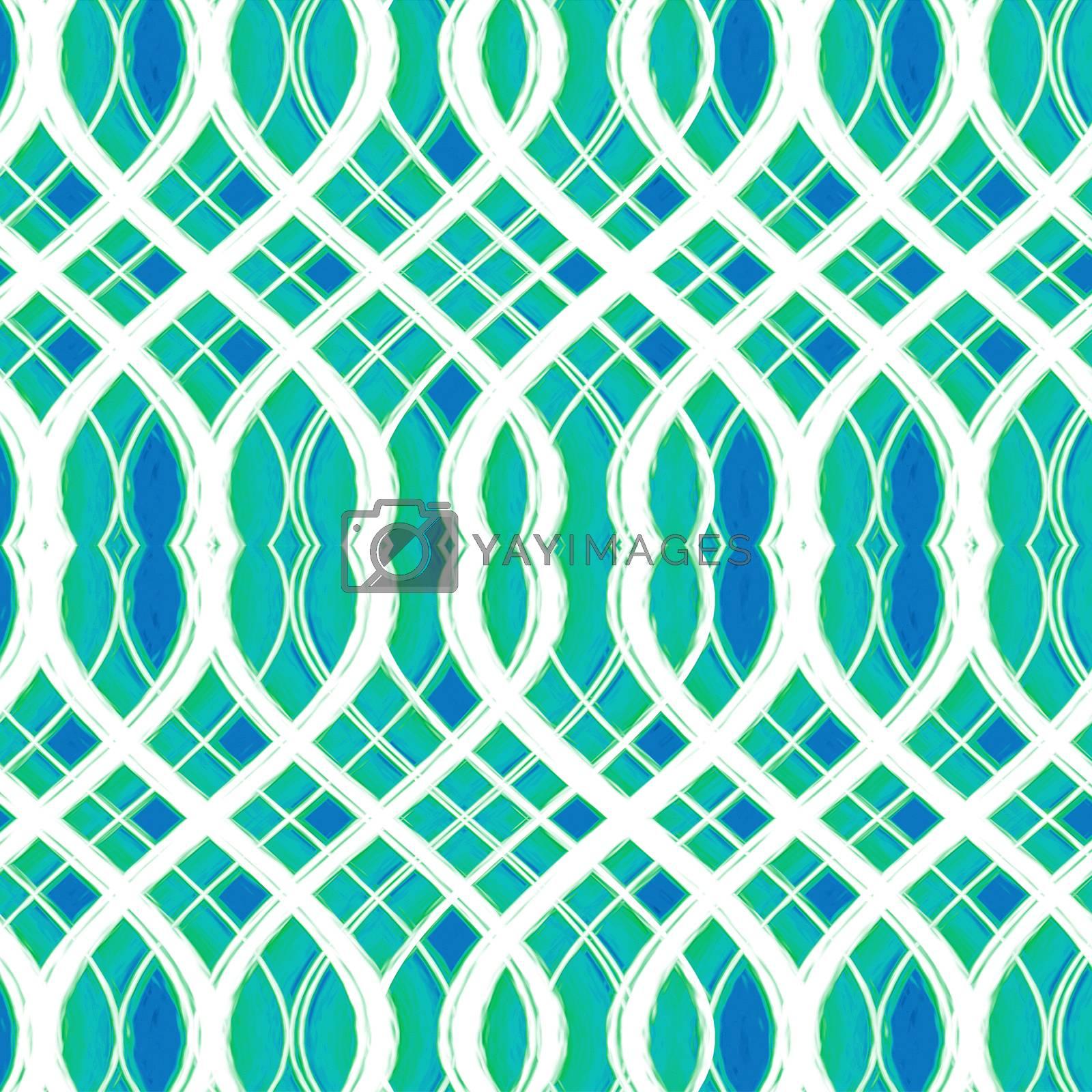 VIbrant Interlace Seamless Pattern by DanFLCreative