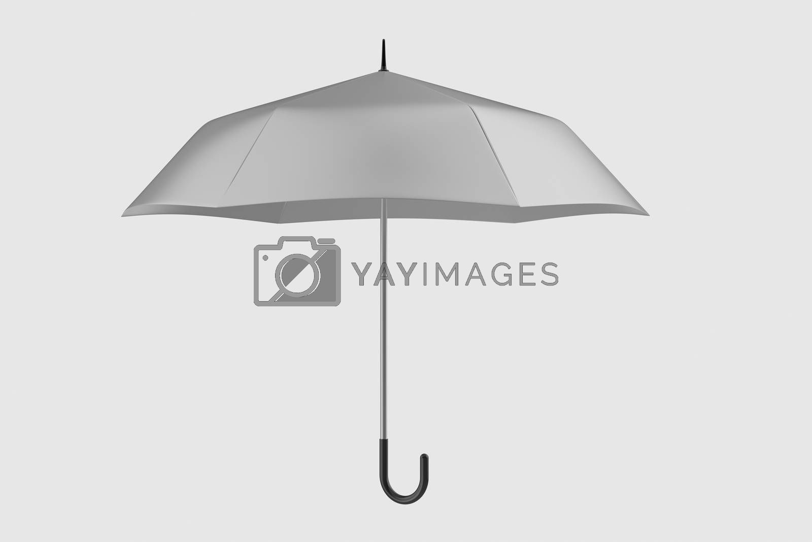 3d rendering, the umbrella with white background by vinkfan