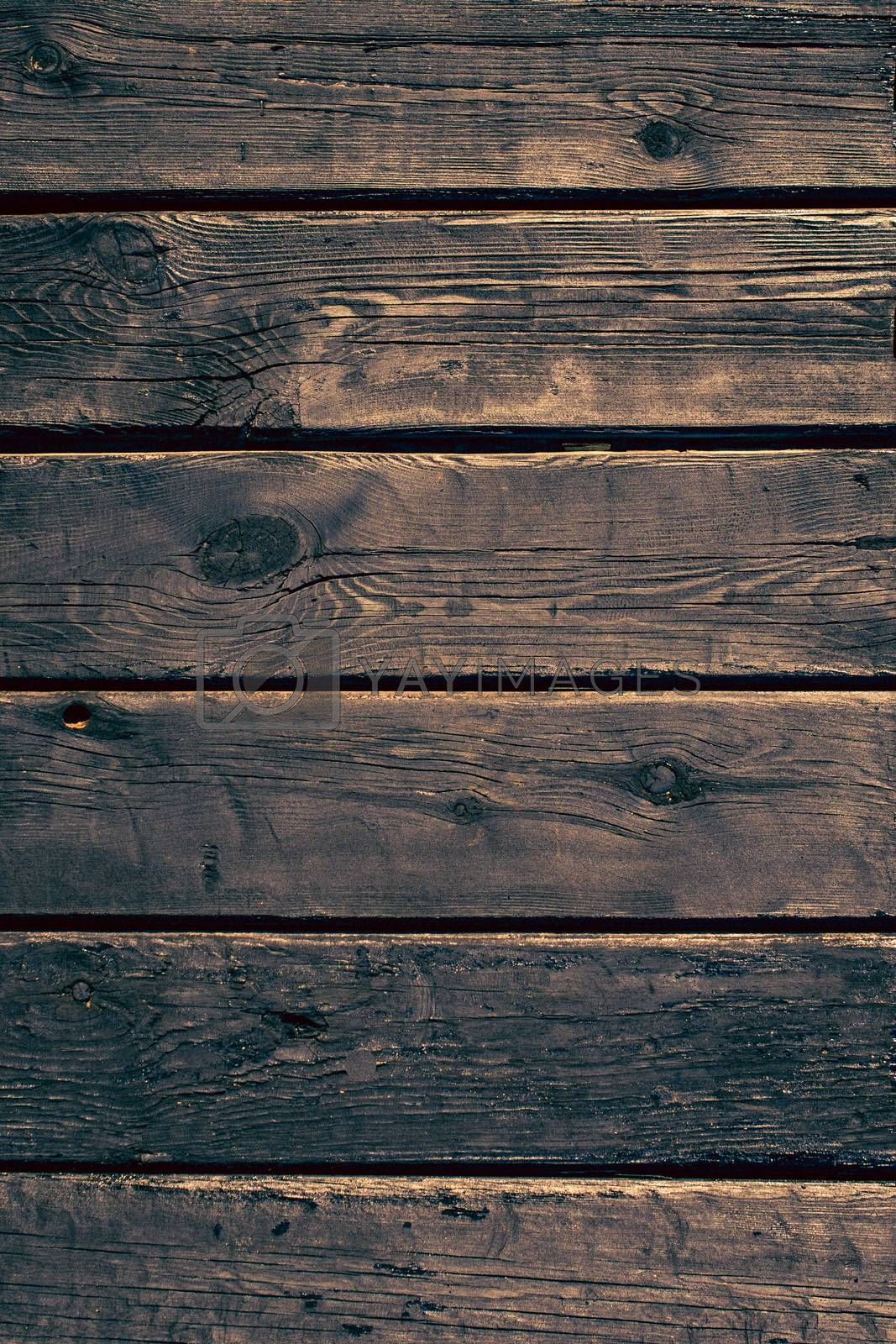 Wooden plunks as background by berkay